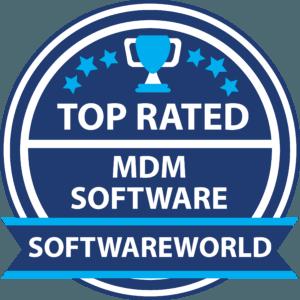 Software world MDM software Badge